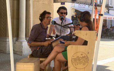 Solidarité HABITATS interviewée par Radio Méga… sur le vélo radio !